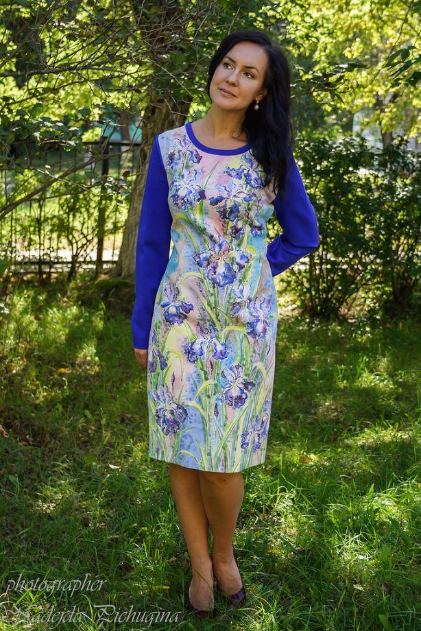 платье Синие Ирисы